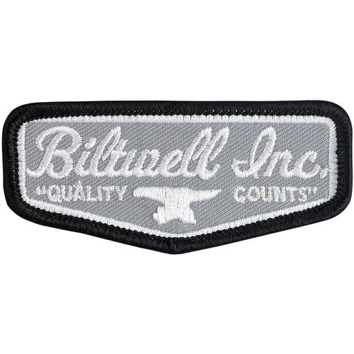 Нашивка Biltwell GREY SHIELD 3""
